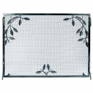 Minuteman Intl. Single Panel Weston Fireplace Screen