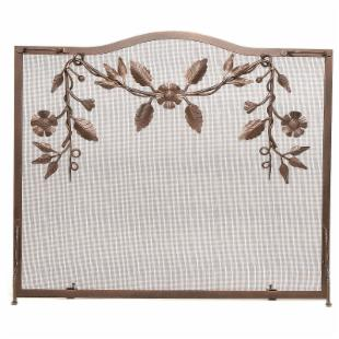 Minuteman Intl. Single Panel Garland Fireplace Screen