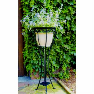 Verandah Wrought Iron Plant Stand
