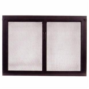 Minuteman Intl. Single Panel Shaker Glass Fireplace Door