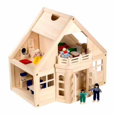  Melissa and Doug Furnished Wooden Dollhouse Kit