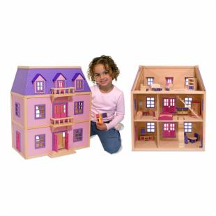 Melissa and Doug Multi-Level Dollhouse