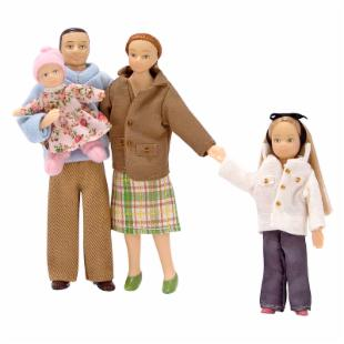 Melissa and Doug Doll Family of 4 Set