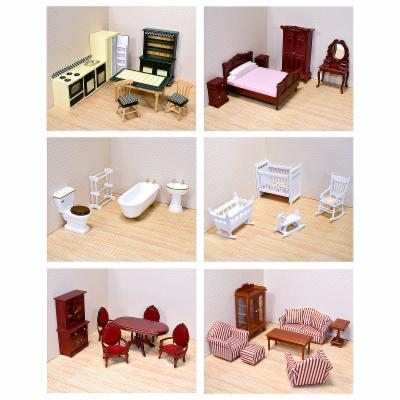  Melissa and Doug 6 Room Furniture Set 1 Inch Scale