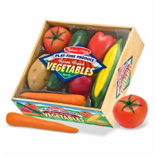 Melissa and Doug Play-Time Veggies Playset