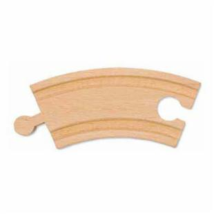 Melissa and Doug 3.25 in. Curved Track - Set of 6