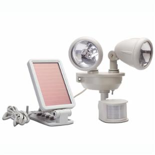 Motion-Activated Dual Head LED Security Floodlight