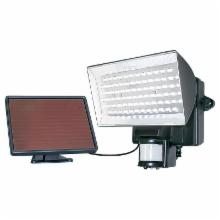  Motion-Activated 80 LED Security Floodlight - Black