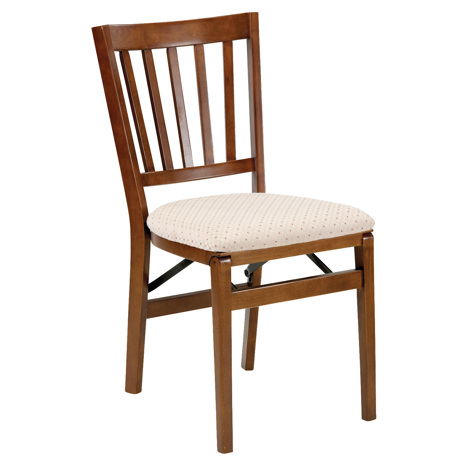 Stakmore Schoolhouse Upholstered Folding Chair - Set of 2 ...