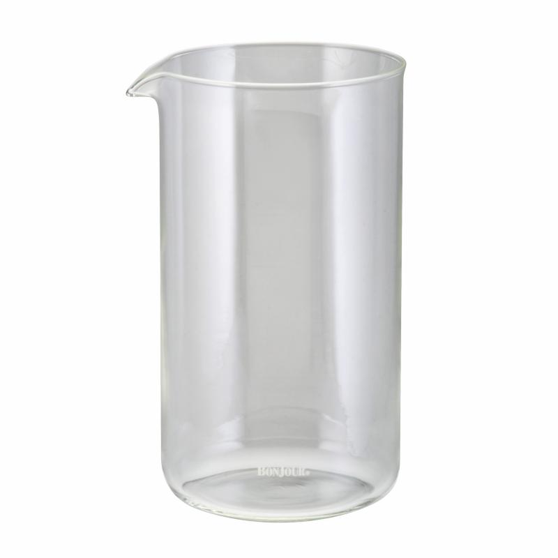 BonJour 8 Cup Replacement French Press Beaker- Clear MECIO260-1