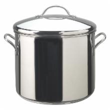  Farberware Classic Series Stainless Steel 12 qt. Stock Pot with Lid