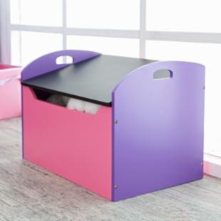 Studio Designs Kid&#39;s Purple and Pink Toy Chest