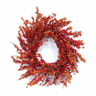24-in. Berry Wreath
