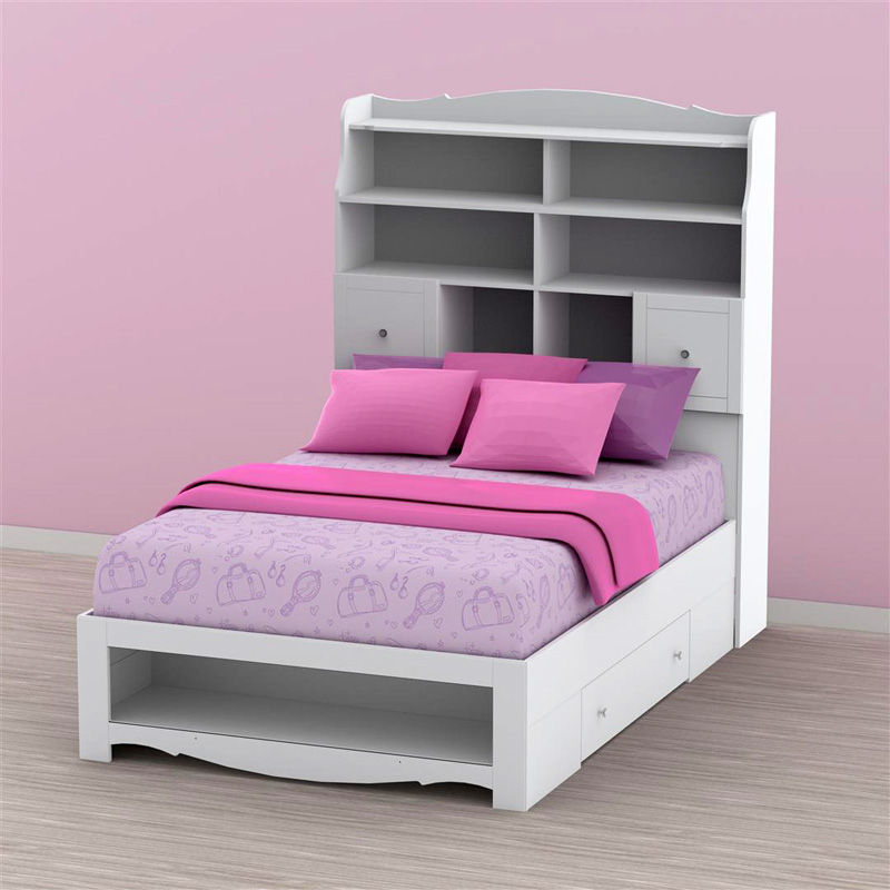 Pixel Tall Bookcase Storage Bed At Hayneedle