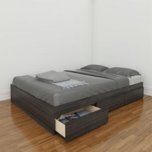 Atom Reversible Storage Bed