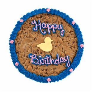 Mrs. Fields&reg; Happy Birthday Ducks Cookie Cake