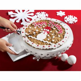 Merry Christmas Happy Holidays Cookie Cake