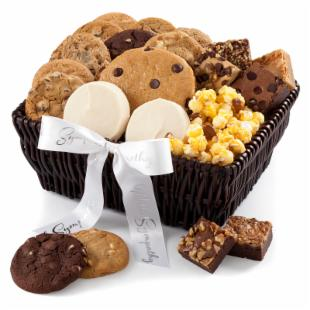 Mrs. Fields Deluxe Sympathy Basket