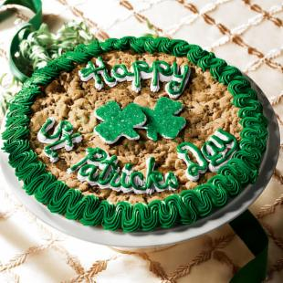 Mrs. Fields&reg; Happy St. Patrick&#39;s Day Cookie Cake