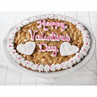 Mrs. Field's Pink Valentine Cookie Cake