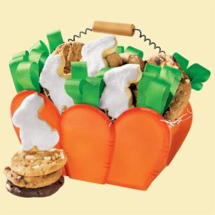 Mrs. Fields Sweet Carrot Gift Crate
