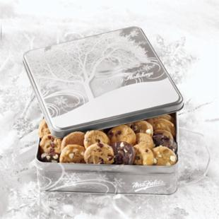Mrs. Fields Winter Flurry Nibblers Tin