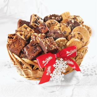 Mrs. Fields Cookie &amp; Brownie Holiday Baskets