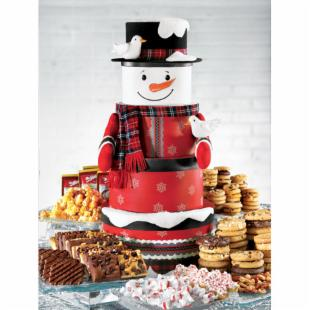 Mrs. Fields Ultimate Snowman Bundle of Treats Holiday Gift Set
