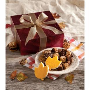 Mrs. Fields Elegant Fall Gift Box