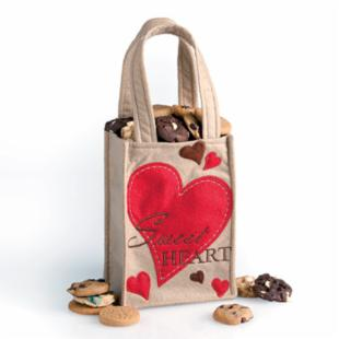 Mrs. Fields Sweet Heart Tote