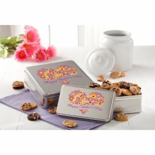 Mrs. Fields Mother's Day Tin with Nibblers