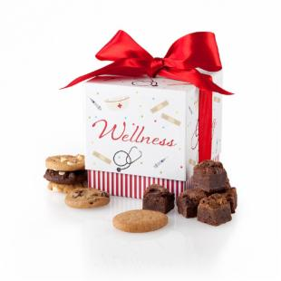 Mrs. Fields Well Wishes Ribbon Gift Box
