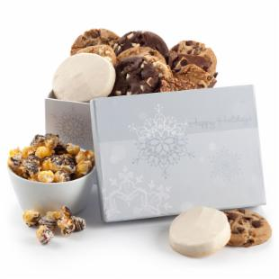 Mrs. Fields Shimmering Snowflake Gift Box
