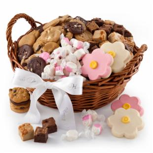 Mrs. Fields Mother's Day Sampler Basket