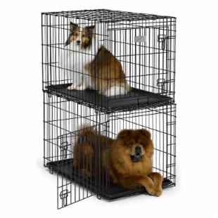 Midwest Solutions Series Interlocking Stackable Dog Crate