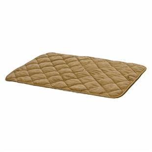 Deluxe Tan Suede Dog Mat