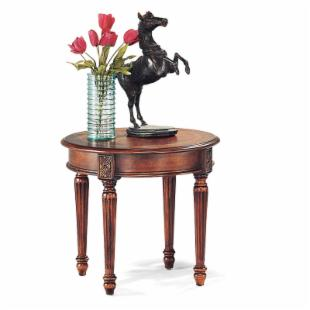 Magnussen 13800 Sedona Wood Round End Table