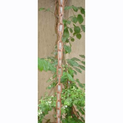 Monarch 8.5 ft. Copper Link Rain Chain