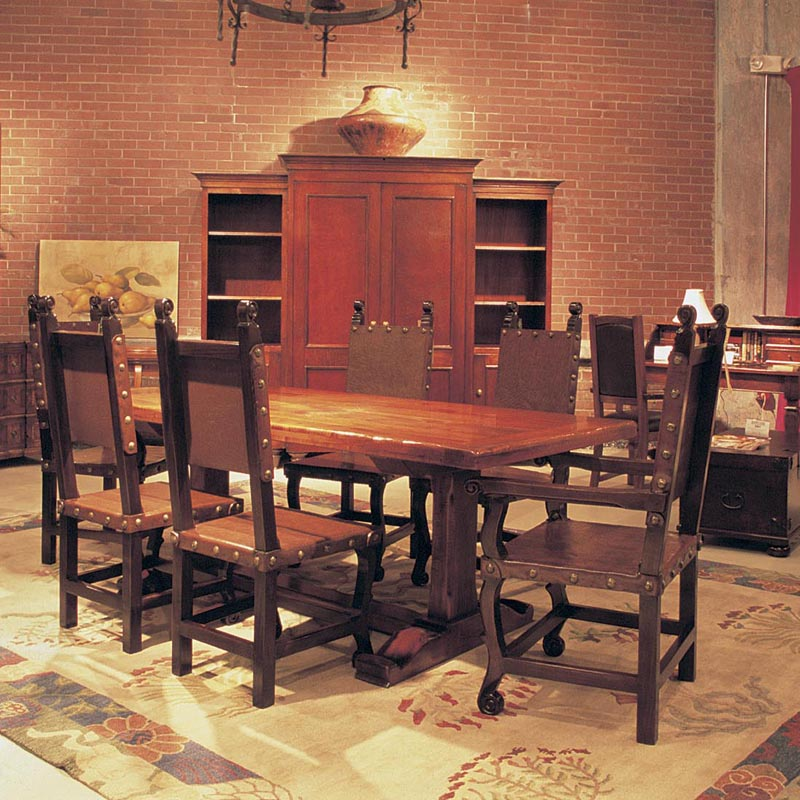 South Cone Sidney Counter Height Table Mesquite Kitchen Dining Room