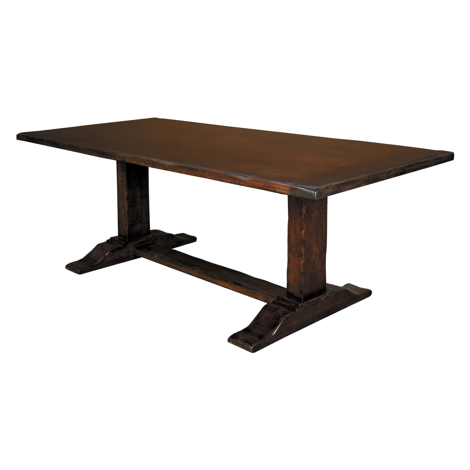 South Cone Sidney Dining Table Mesquite Dining Tables At Hayneedle