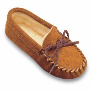 Minnetonka Childrens Pile Lined Slippers