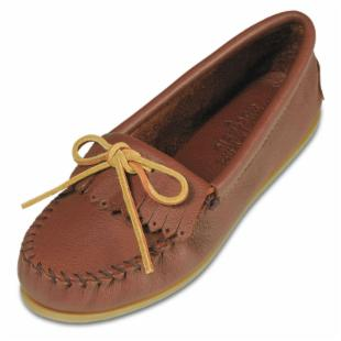 Minnetonka Womens Deerskin Soft - T Moccasins