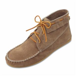 Minnetonka Mens Chukka Boot - Taupe Suede