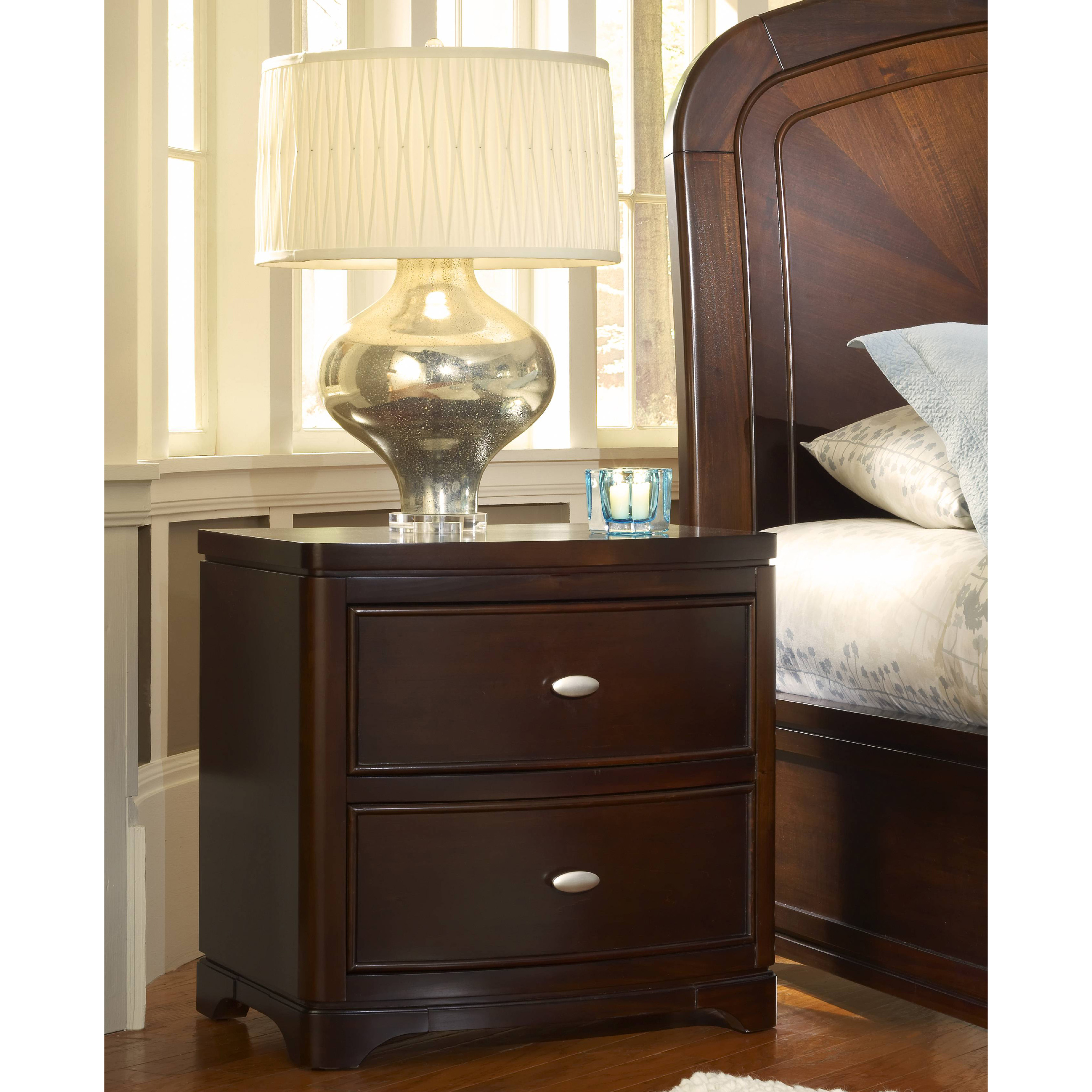 Telos 2 Drawer Nightstand With Charging Station