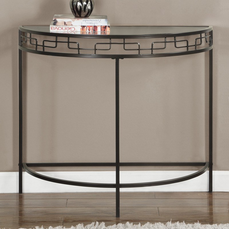 Monarch specialties chain link accent table console