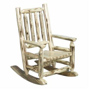 Montana Woodworks Childs Log Rocker