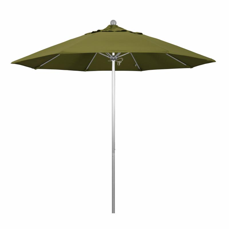 California Umbrella 9 ft. Fiberglass Pacifica Market Umbrella Ginkgo MPC166-25