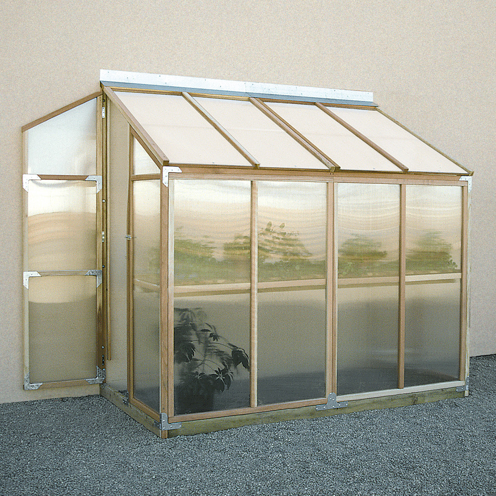 Sunshine Lean To 4 X 8 Foot Greenhouse Kit Greenhouses