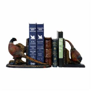Autumn Pheasants Bookends