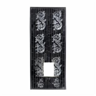 Mosaic Tile Candle Sconce 8W x 18H in.